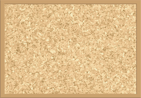 Cork board ☆ (background image material) frame