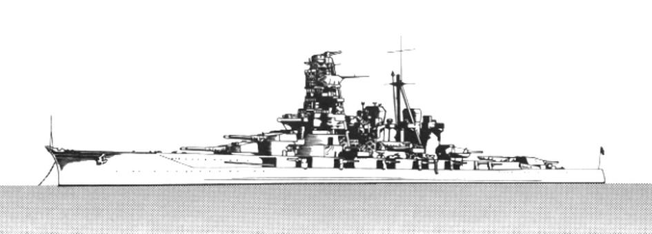 High-speed battleship Kongo