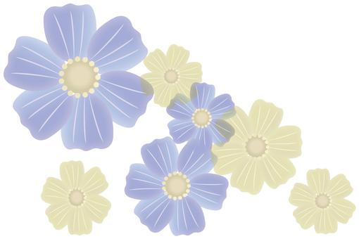 Japanese style flowers