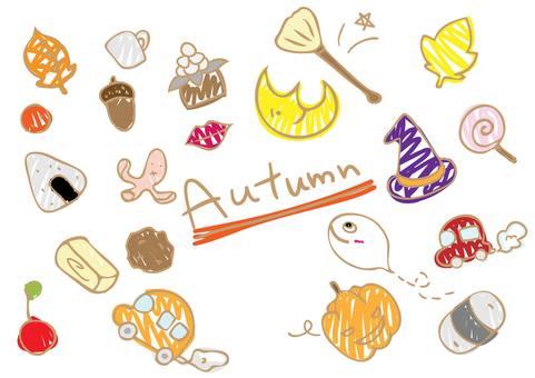 Cute autumn