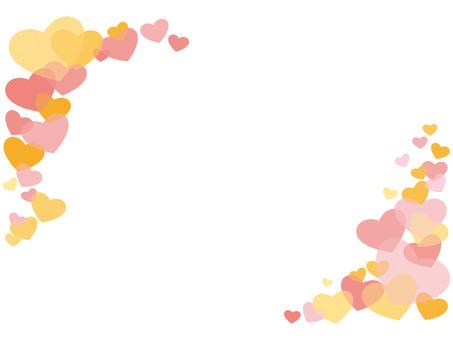 Frame (Heart · Pink)