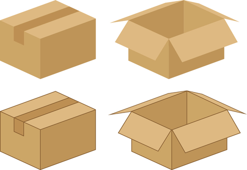Cardboard box | Cardboard | Luggage | Packaging