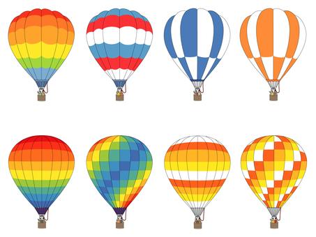 Various balloons