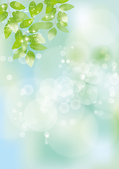 Glittering leaves & sky 60