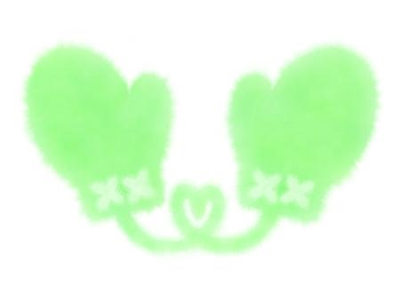 장갑 (녹색)