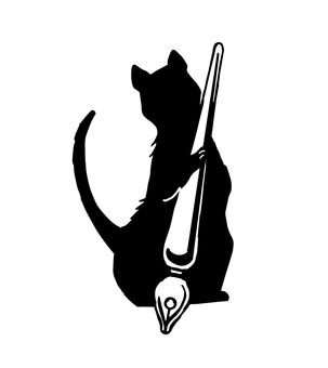 Cat - Silhouette - Pen