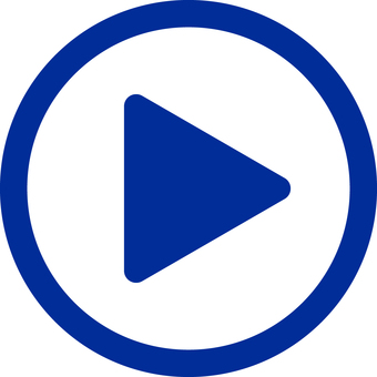 Movie play button _ 04 _ blue