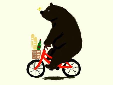 흑곰 군 쇼핑