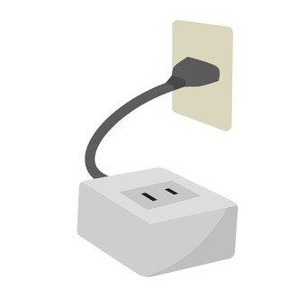 Outlet conversion plug