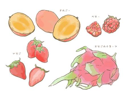 Various fruits Vol.1