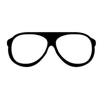 Black edge glasses