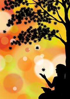 Fall silhouette