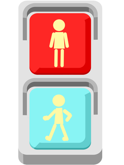 Signal machine for pedestrians