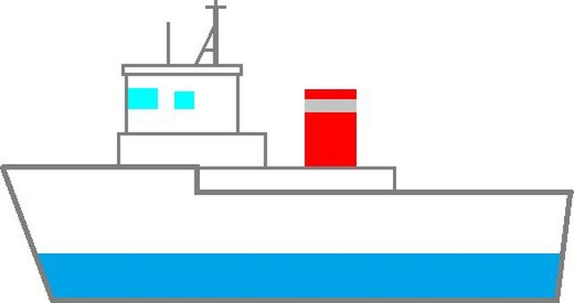 Minesweeping boat