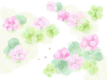 Spring landscape 5