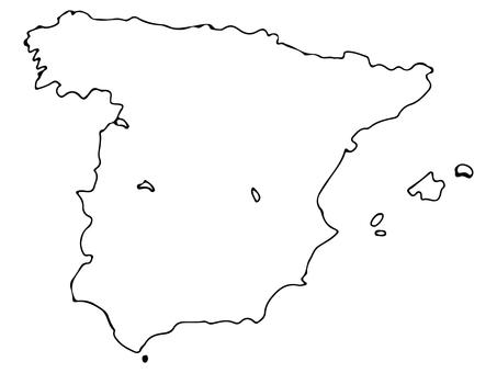 Spain terrain