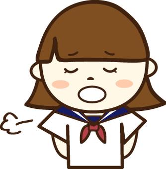 水手服的女學生(困難的面孔4)