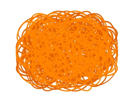 Character frame Orange