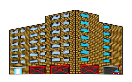 Apartment seismic retrofit