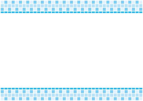 Frame - B Tile - Blue
