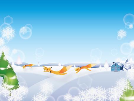 Winter sky 01