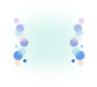 Blue polka dot frame