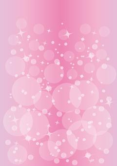 Pink shimmering background