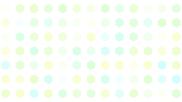 Background hexagon tile blue yellow