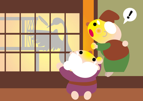 Japanese folktales _ crane's repayment 2
