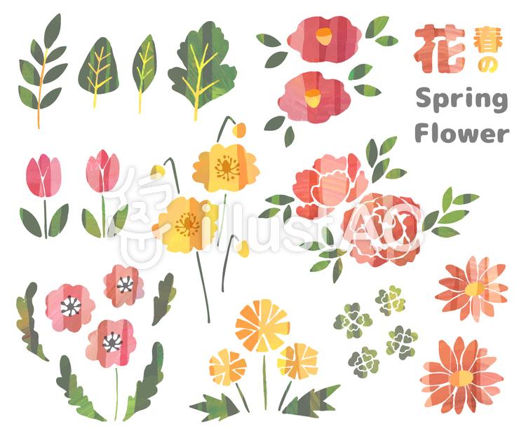 春の花のイラスト