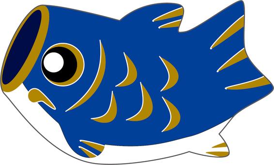 鯉魚streamer_blue