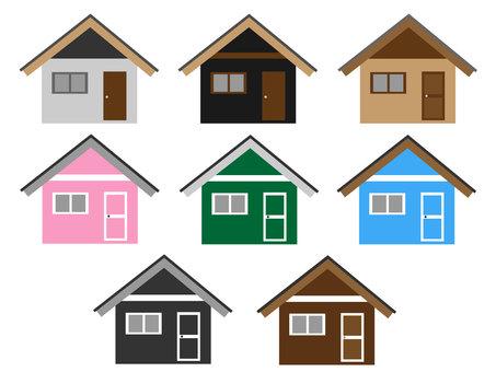 House / Shed Set 2