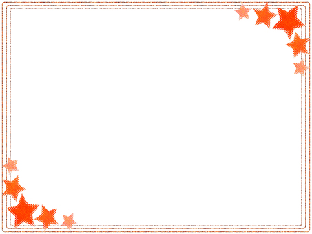 Star frame (Orange)