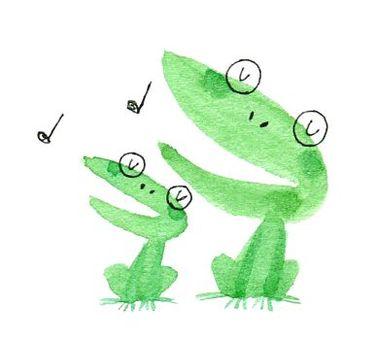 Duet frog