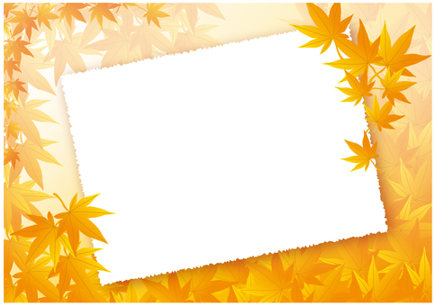 Autumn leaves background board