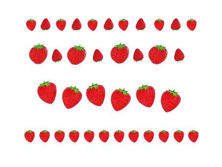 草莓線材料