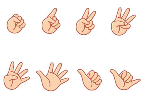Hand finger janken