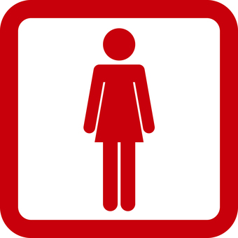 Red pictogram
