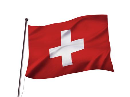 スイスの国旗イメージ