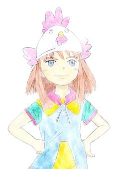 Young girl 04