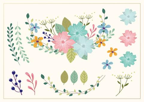 꽃 요소 02