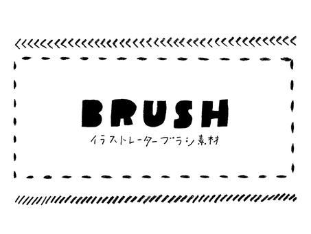 Pencil hand-drawn wire brush 02 [CS5] Repost