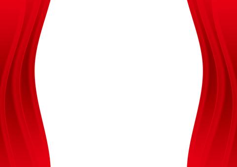 Curtain curtain red