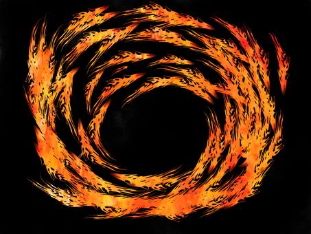 Flame vortex 4