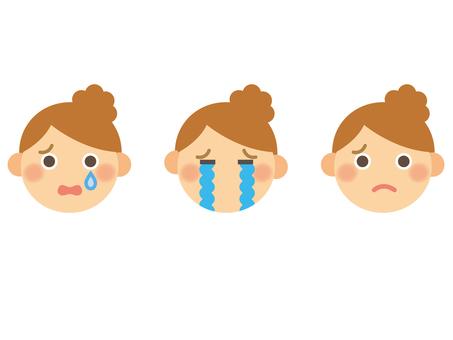 Face _ female 1 _ sad