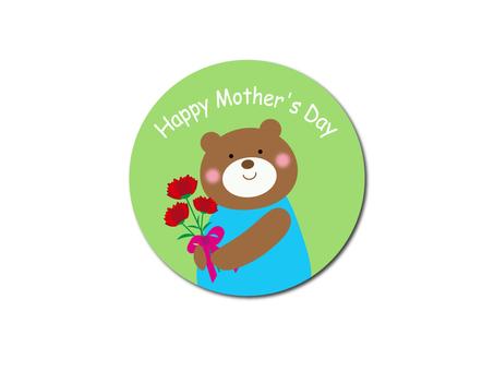 Kuma-chan Mother's Day Illustration