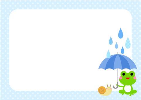 Rainy season image material 94