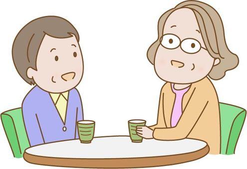 Talk of the elderly