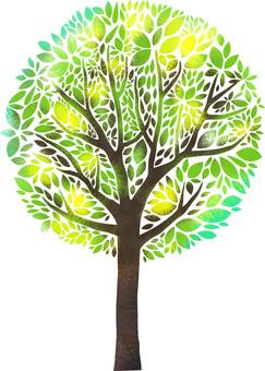 환상적인 나무.