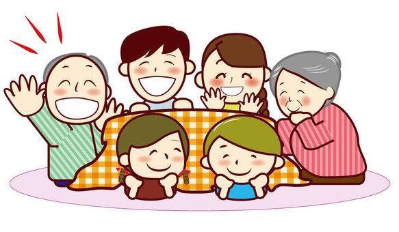 chacha Family team kotatsu